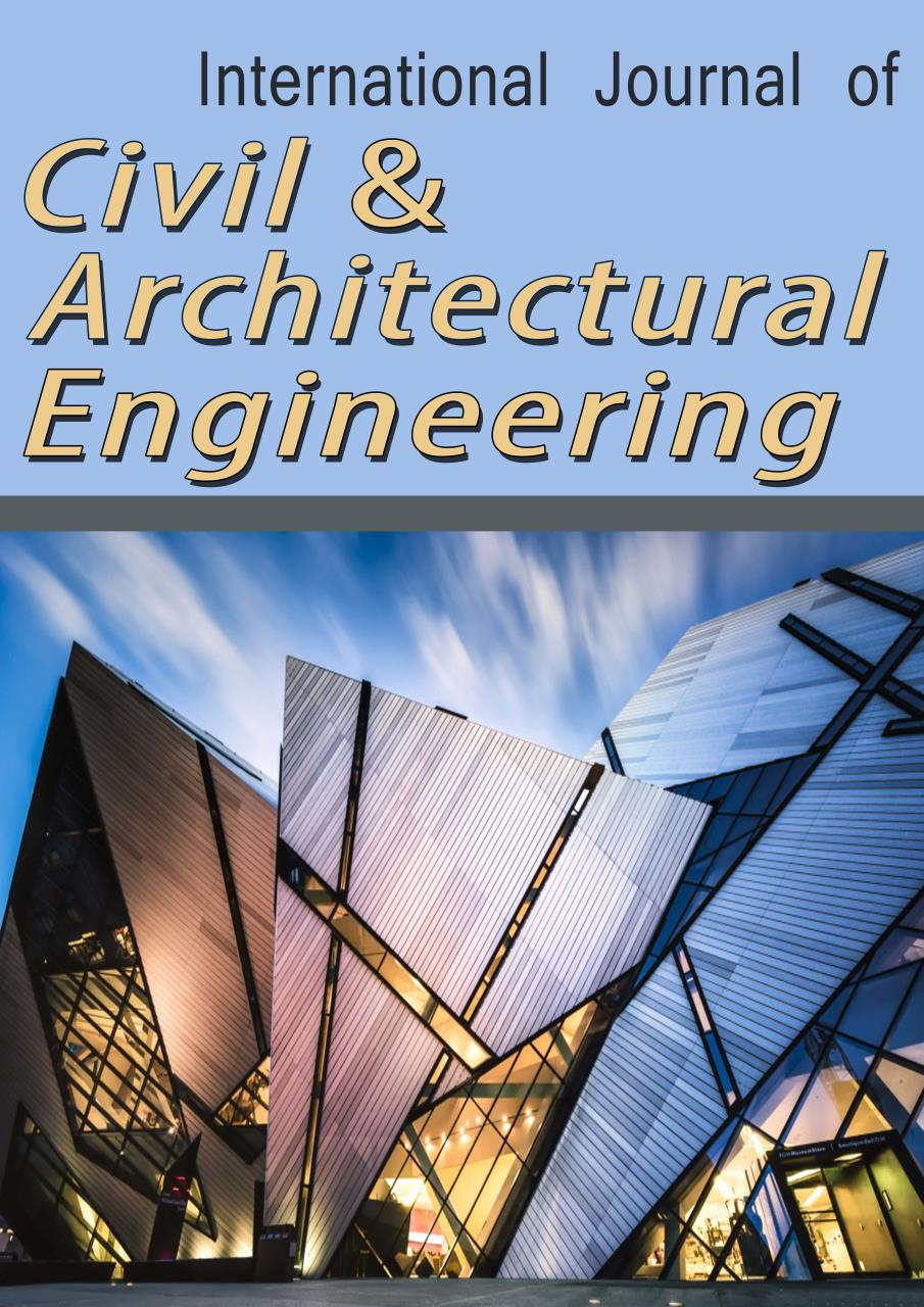 Ietp Association Electrical Engineering Plan Uaeu Home International Journal Of Civil And Architectural Ijcae